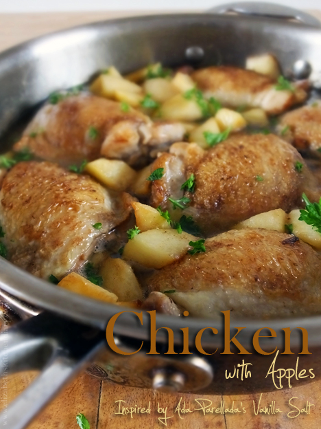 Chicken with Apples by Elizabeth's Kitchen Diary