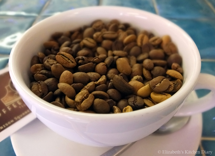 Coffee Beans by Elizabeth's Kitchen Diary