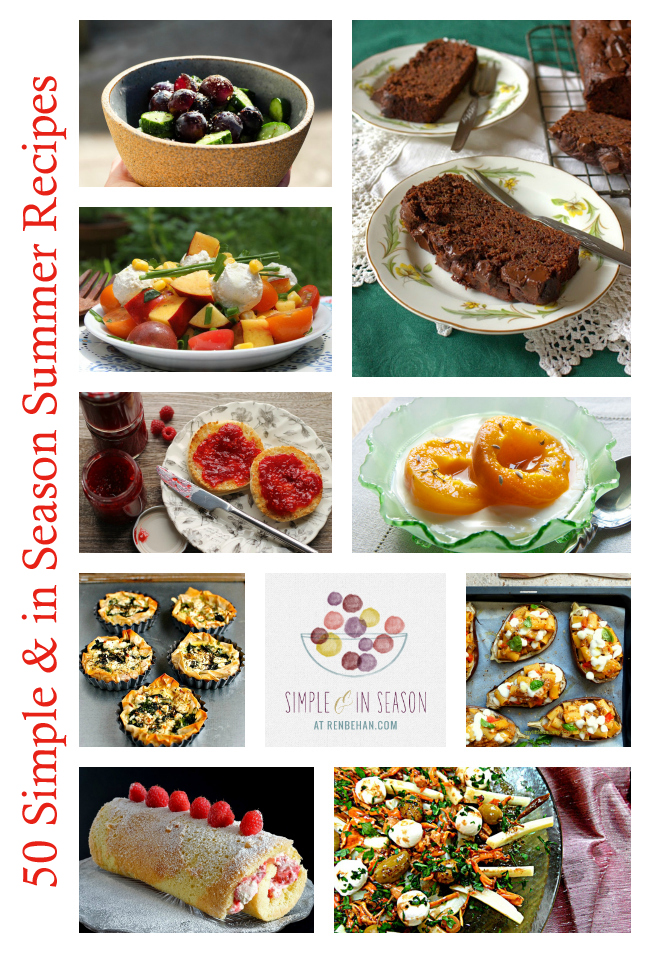 summer recipe collection