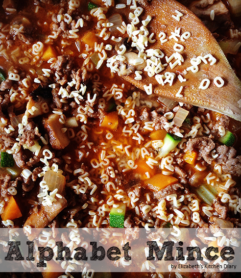 alphabet mince and tatties