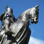 Robert de Bruce Sculpture, Bannockburn