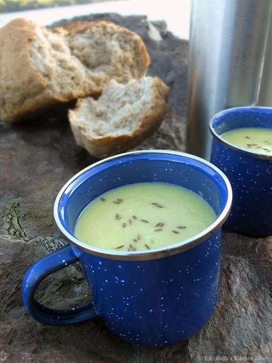carrot cumin coriander soup