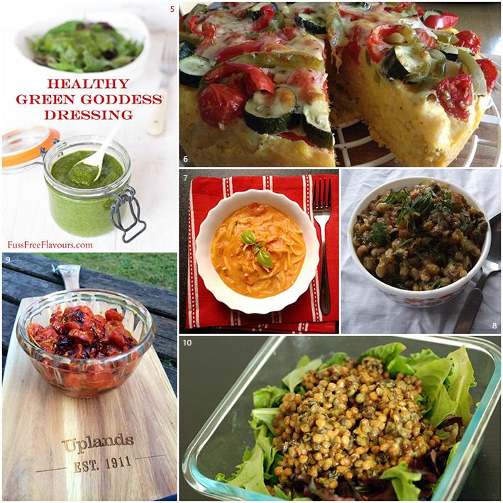 Credit Crunch Munch Veggie Recipes