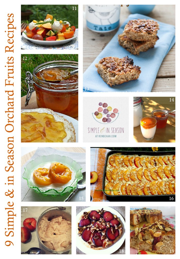 summer fruits recipes