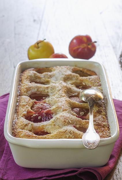 Plum Oatmeal Cake by Tortadirose