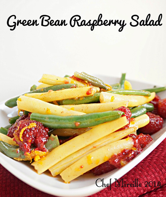 Green Bean Raspberry Salad