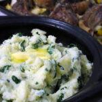 Cheesy Mashed Tatties & Kale