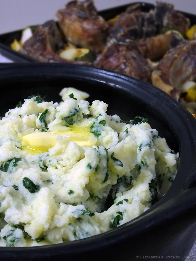 Mashed Tatties and Kale