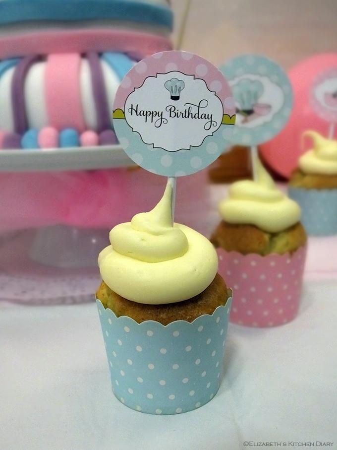 Baking Party Cupcake
