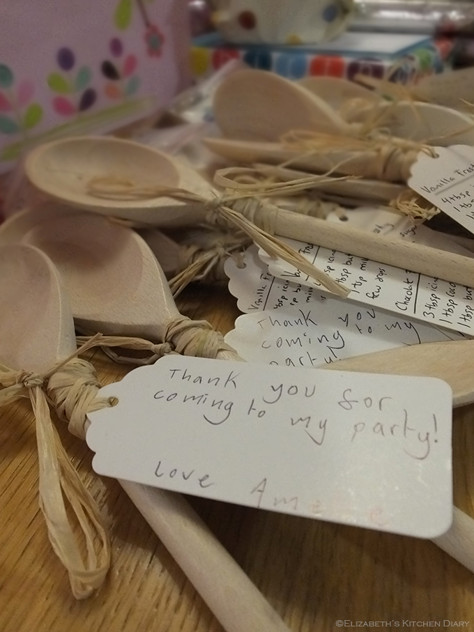 Baking Party Favour Spoons