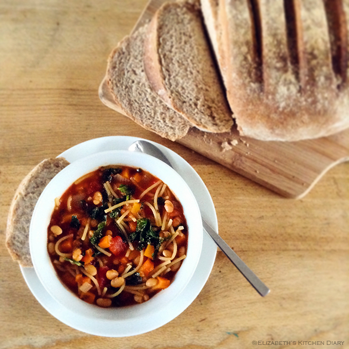Minestrone Soup 18 p