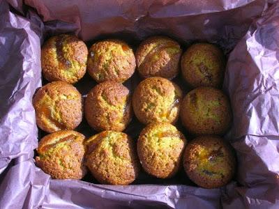 Matcha Marmalade Cakes