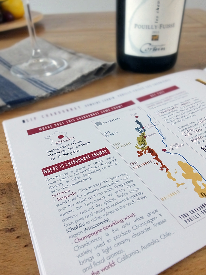 Sip and Learn Wine Tasting Box