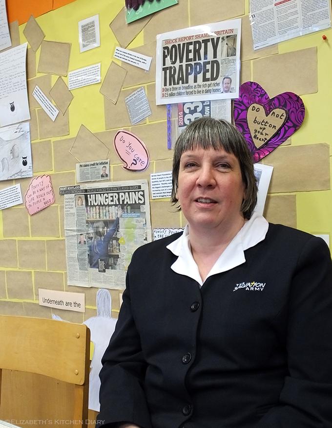 Angela Nunn, Salvation Army Lerwick