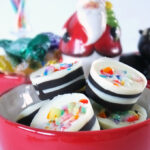 candy cane chocolates