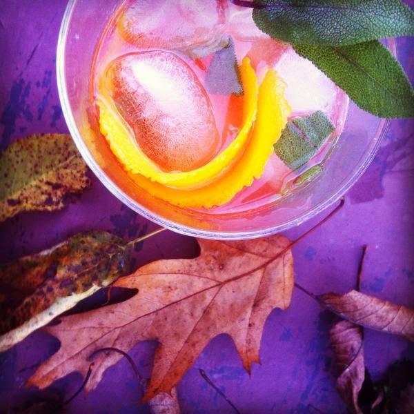plum autumn cocktail