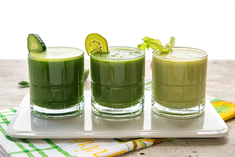 green juice without a juicer