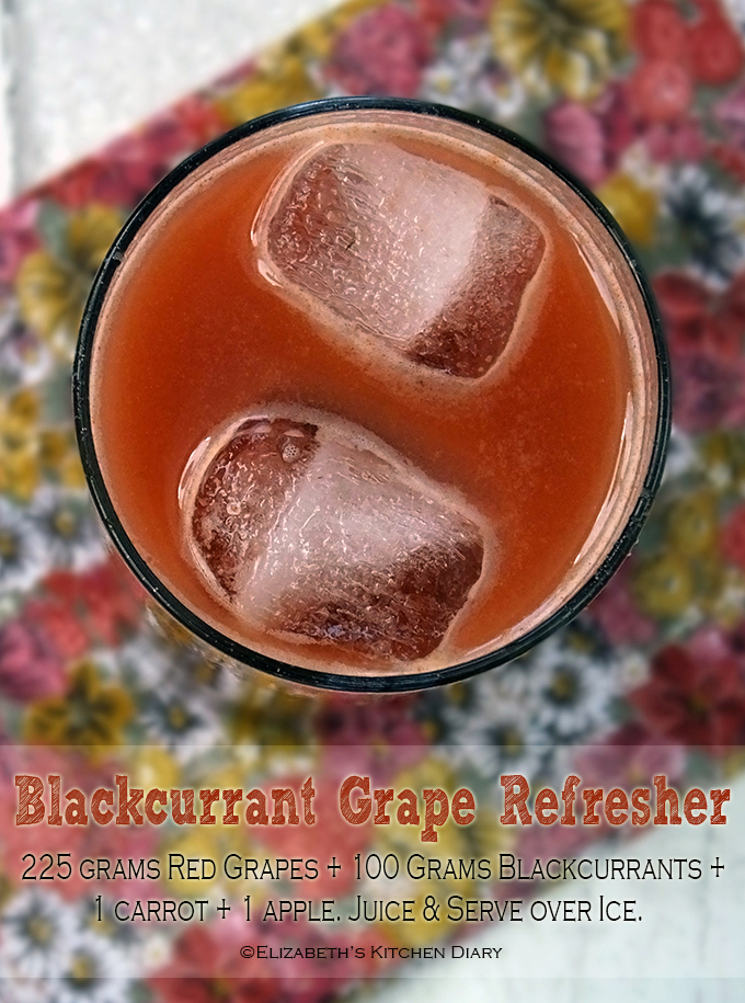 Blackcurrant Grape Refresher Juice