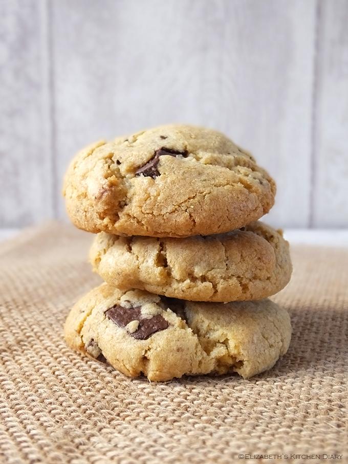 Double chocolate chunk oatmeal cookies