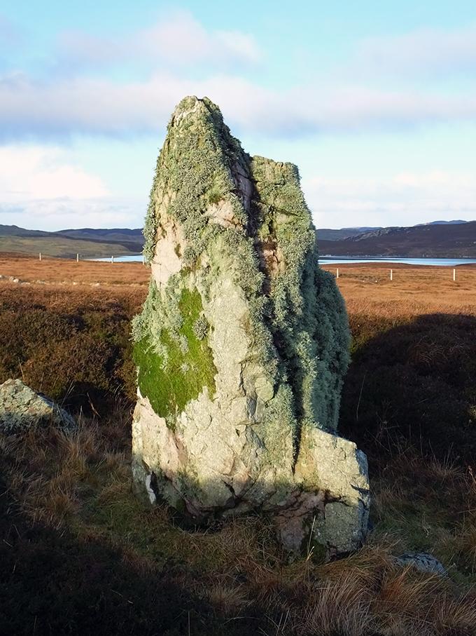 Gravlaba Standing Stone, Shetland