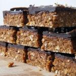 Chocolate Covered Peanut Protein Bars {vegan}