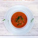 roast tomato garlic soup