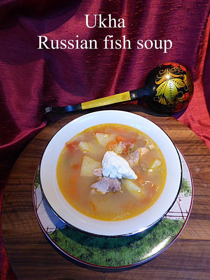 Ukha Russian Fish Soup