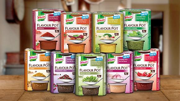 Knorr Flavour Pots