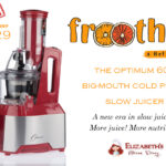 Optimum 600 Slow Juicer Giveaway