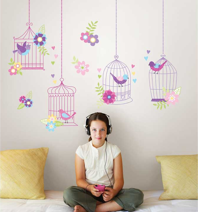 WallPops Butterfly Garden Wall Kit