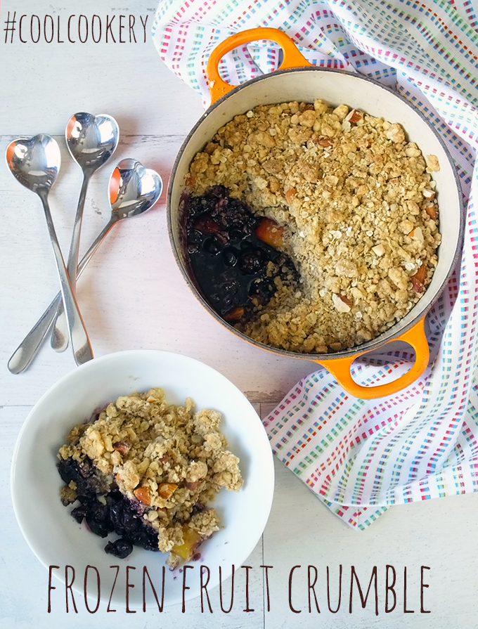 Frozen Fruit Crumble