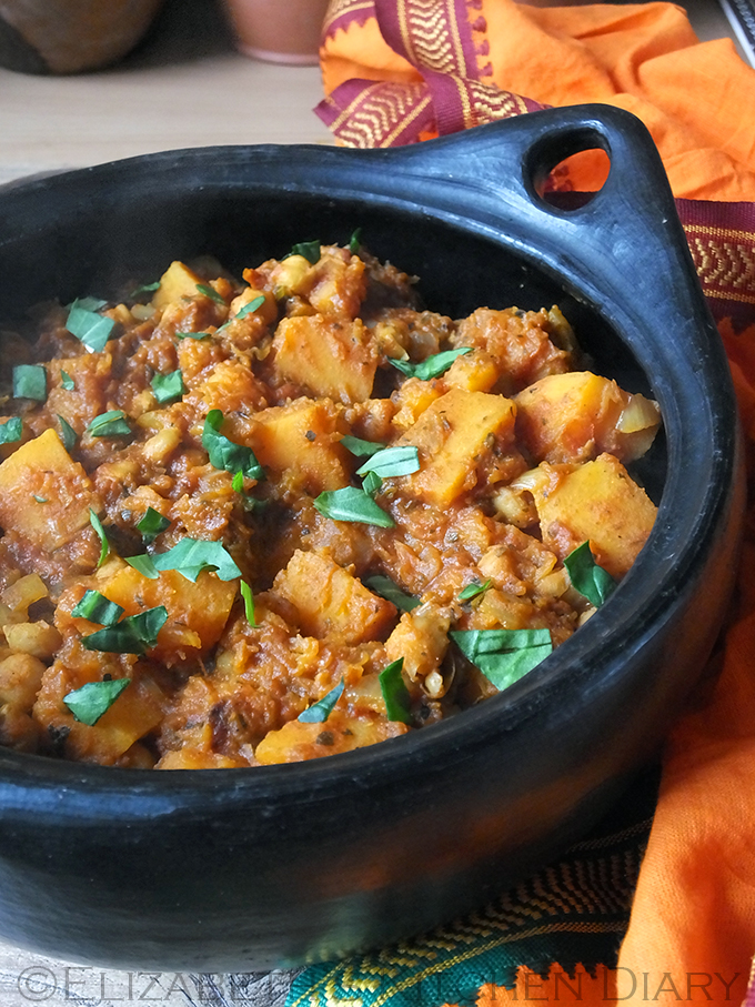 Butternut Squash & Chickpea Masala Curry