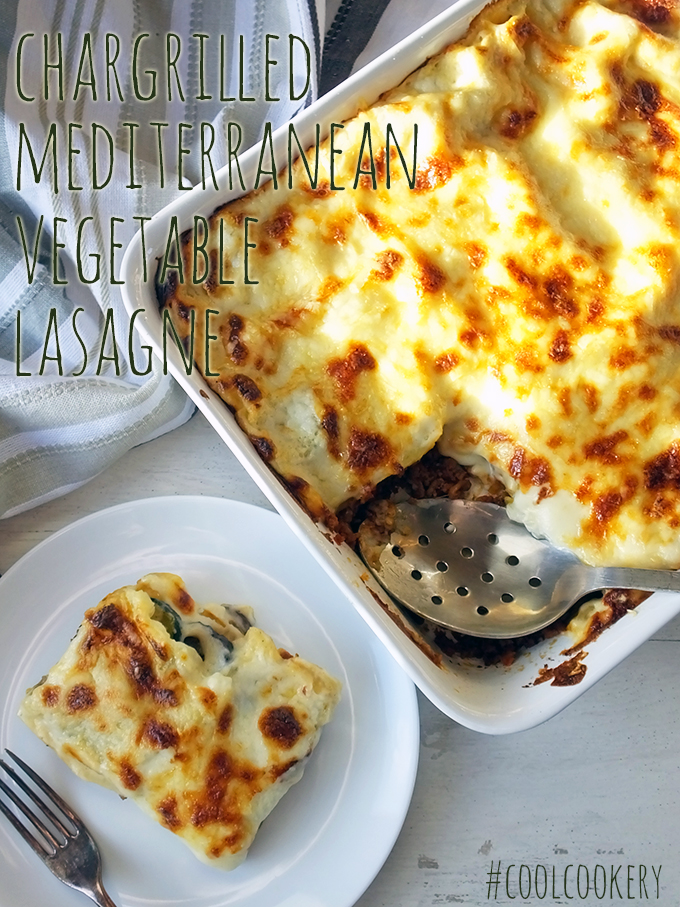 Chargrilled Mediterranean Vegetable Lasagne
