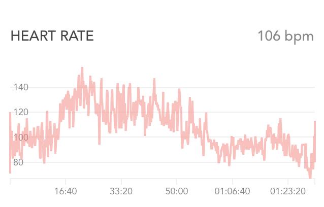 p90x Yoga X heart rate