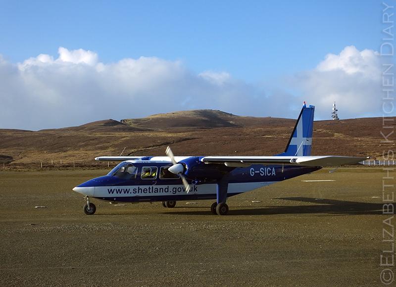 Fair Isle flight