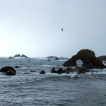 Fair Isle sea