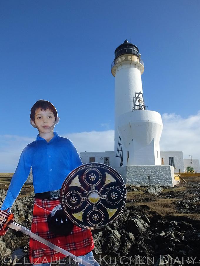 Fair Isle Light House with Flat Najim