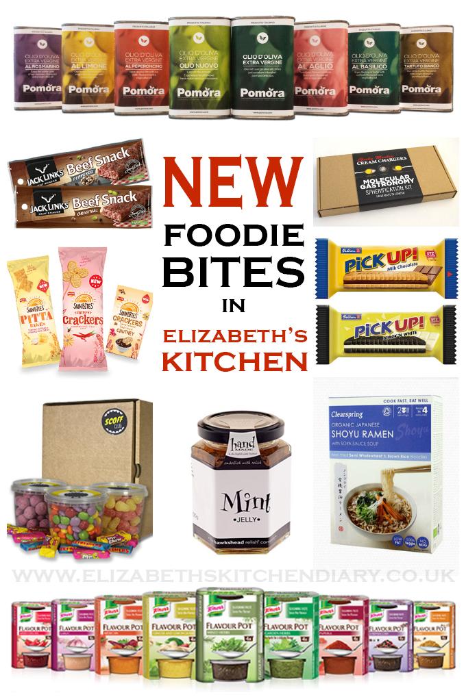 New Foodie Bites in Elizabeth's Kitche