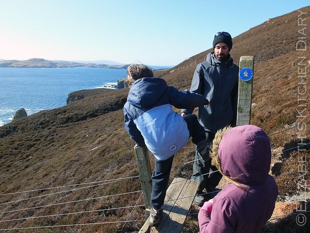 Muckle Roe Access Shetland