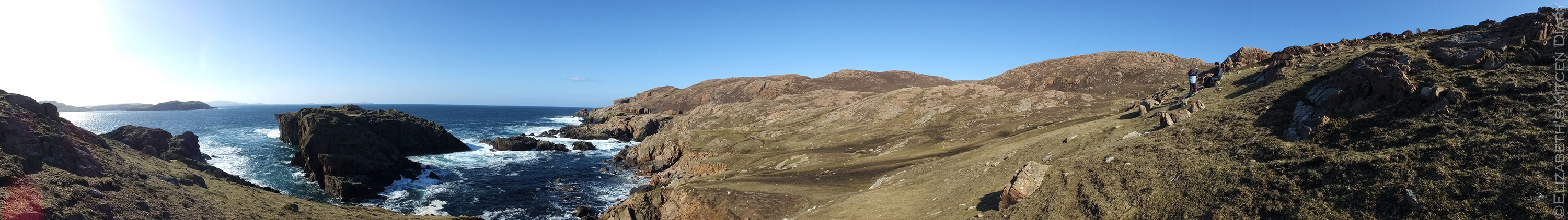 Muckle Roe Panorama