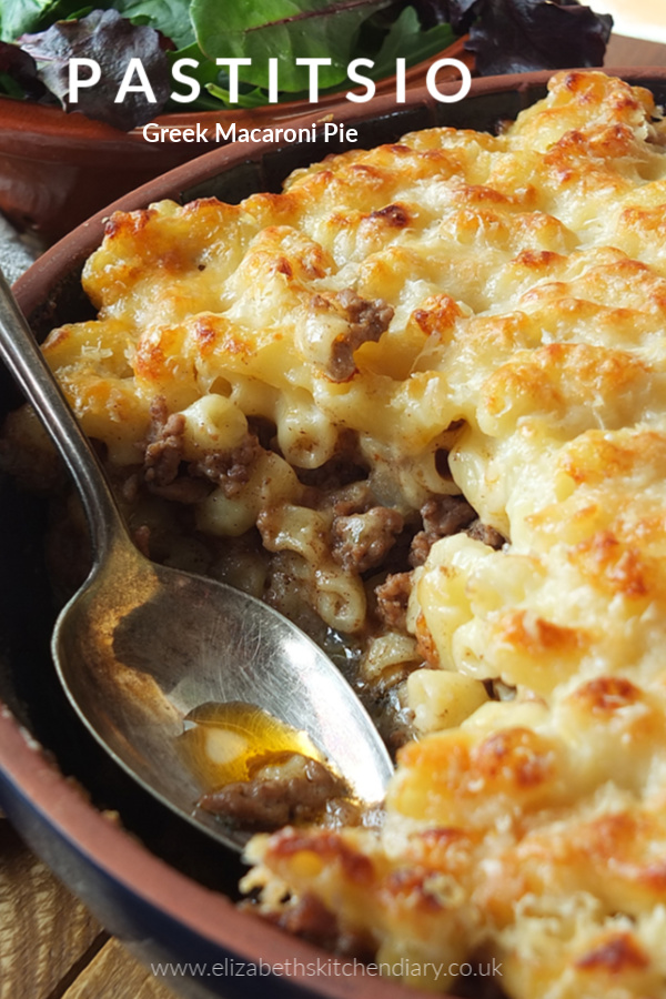 Layers of ooey gooey macaroni cheese sandwiching a cumin spiced lamb mince. #pastitsio #macaronicheese #macaroni #macandcheese #pasta