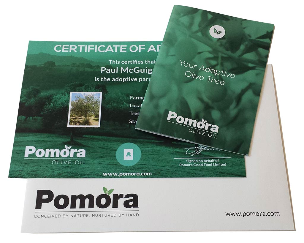Pomora Olive Oil Adoption Pack