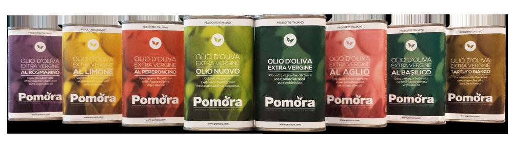 Pomora Olive Oil Tins