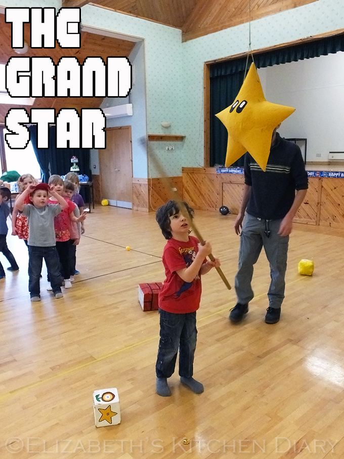 The Super Mario Grand Star Pinata