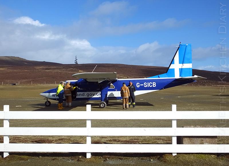 Fair Isle airplane