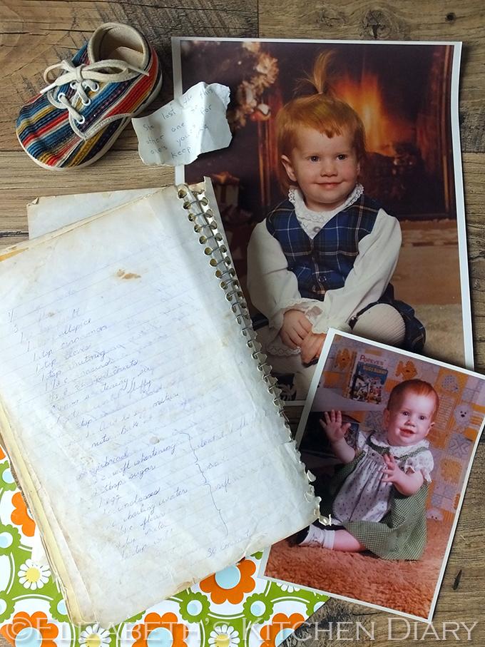 vintage baby photos and recipe