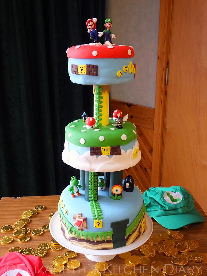 The Ultimate Super Mario Bros Birthday Party! - Elizabeth ...