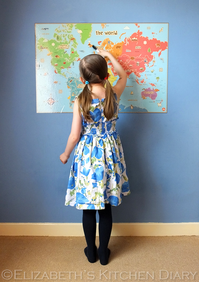 Wall Pops! world map