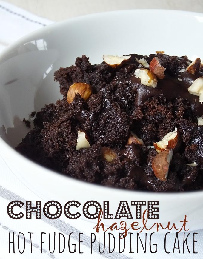 Chocolate Hazelnut Hot Fudge Pudding Cake