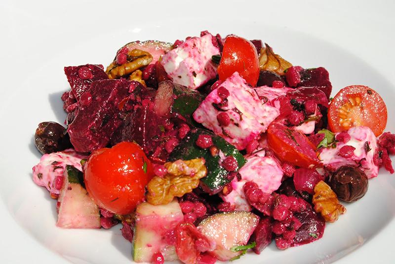 Giant Couscous Greek SaladGiant Couscous Greek Salad